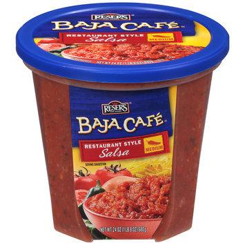 Reser's® Baja Cafe® Medium Restaurant Style Salsa 24 oz. Tub