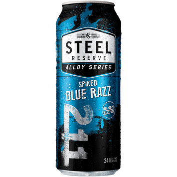 Steel Reserve Alloy Series® Spiked Blue Razz Beer