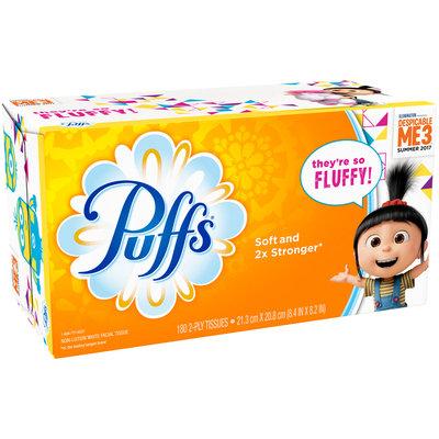 Puffs® White Facial Tissue 180 ct Box