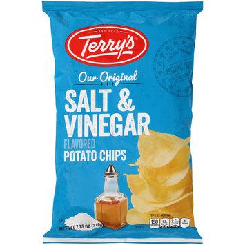 Terry's® Our Original Salt & Vinegar Flavored Potato Chips 7.75 oz. Bag