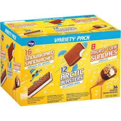 Kroger® Ice Cream Variety Pack 36 ct Box
