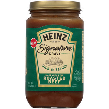 Heinz® Signature Roasted Beef Gravy