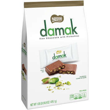 NESTLE DAMAK Chocolate with Pistachios 1.05 lb. Pack