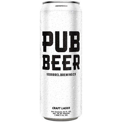 Pub Beer Lager 25 fl. oz. Can