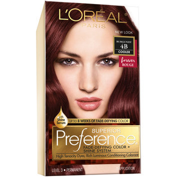 L'Oreal® Paris Superior Preference® Hair Color Cooler 4B Burgundy 1 kt Box