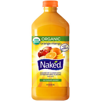 Naked® Organic Orange Mango 100% Juice 64 fl. oz. Bottle