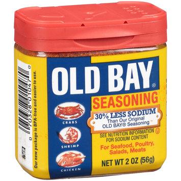 Old Bay® 30% Less Sodium Seasoning 2 oz. Jar