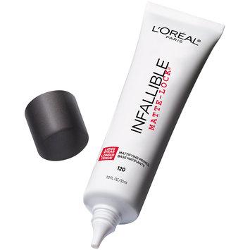 L'Oreal® Paris Infallible Matte-Lock® Mattifying Primer 120 Clear 1 fl. oz. Tube