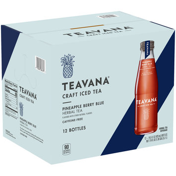Teavana® Caffeine-Free Pineapple Berry Blue Herbal Tea 12-14.5 fl. oz. Bottles