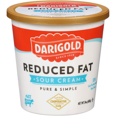 Darigold® Reduced Fat Sour Cream 24 oz. Tub