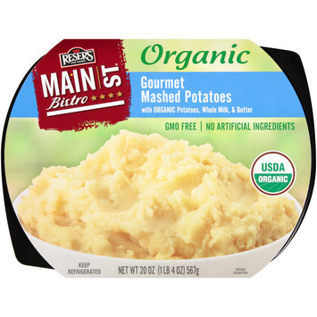 Reser's® Fine Food Main St. Bistro® Organic Gourmet Mashed Potatoes 20 oz. Microwave Bowl