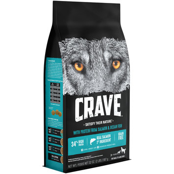 Crave™ with Protein from Salmon & Ocean Fish Dog Food 32 oz. Bag