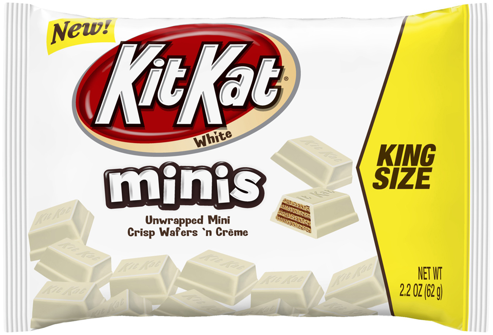 Kit Kat® Minis White Chocolate Wafers King Size Candy 2.2 oz. Bag