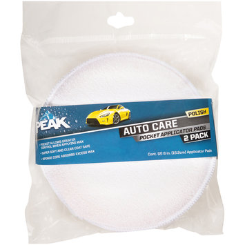 PEAK™ Auto Care Pocket Applicator Pads 2 ct Pack