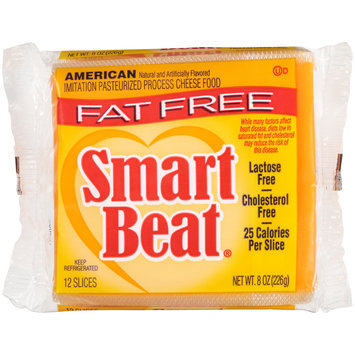 Smart Beat® American Imitation Pasteurized Process Cheese 8 oz. Pack