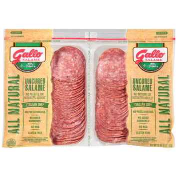 Gallo® Uncured Italian Dry Salame Twin Pack 2-1 lb. Pack