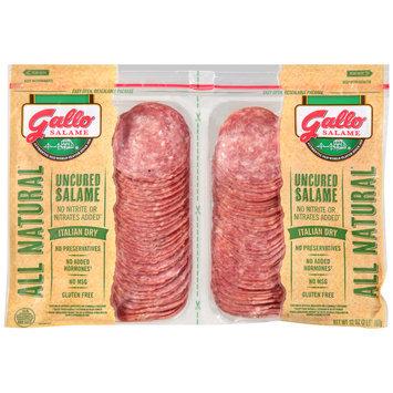 Gallo® Uncured Italian Dry Salame Twin Pack