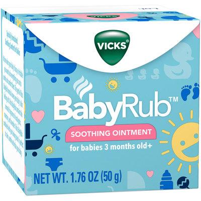 Vicks® BabyRub™ Soothing Ointment 1.76 oz. Box