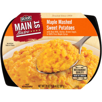 Reser's Fine Foods® Main St. Bistro® Maple Mashed Sweet Potatoes 20 oz. Tray