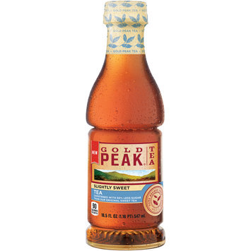 Gold Peak® Slightly Sweet Iced Tea 18.5 fl. oz. Plastic Bottle