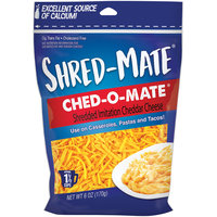 Shred-Mate® Ched-O-Mate® Shredded Imitation Cheddar Cheese 6 oz. Bag