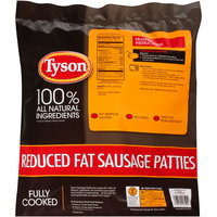 Tyson® Reduced Fat Sausage Patties 64 oz. Bag