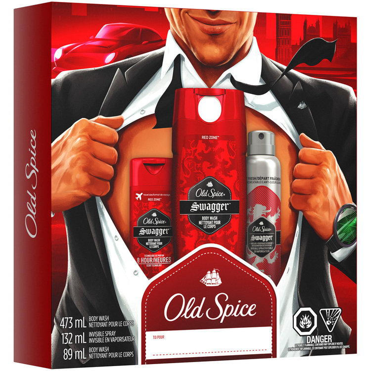 Old Spice® Swagger™ Gift Set 3 pc Box