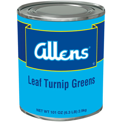 Allens® Leaf Turnip Greens 101 oz. Can