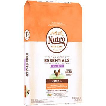 Nutro™ Wholesome Essentials™ Small Bites Farm-Raised Chicken, Brown Rice & Sweet Potato Recipe Adult Dog Food 15 lb. Bag