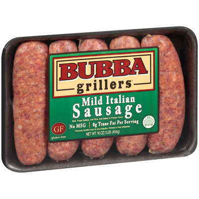 Bubba Grillers® Mild Italian Sausage 16 oz. Pack