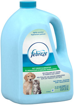 Febreze Fabric Refresher Pet Odor Eliminator Air Freshener (1 Count, 67.6 FL OZ)