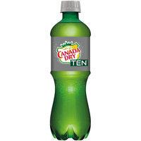 Canada Dry® TEN® Ginger Ale 16 fl. oz. Bottle