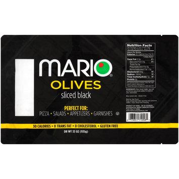 Mario® Sliced Black Olives 33 oz. Bag