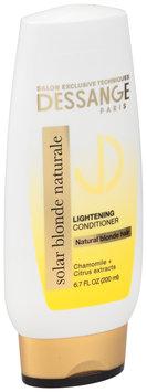 Dessange Paris Solar Blonde Naturale Lightening Conditioner 6.7 fl. oz. Bottle