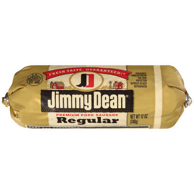 Jimmy Dean® Regular Premium Pork Sausage 12 oz. Chub