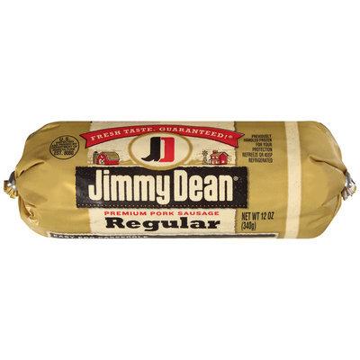 Jimmy Dean® Regular Premium Pork Sausage 12 oz. Chub