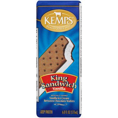 Kemps® King Sandwich Vanilla Ice Cream Sandwich 6.0 fl. oz. Wrapper
