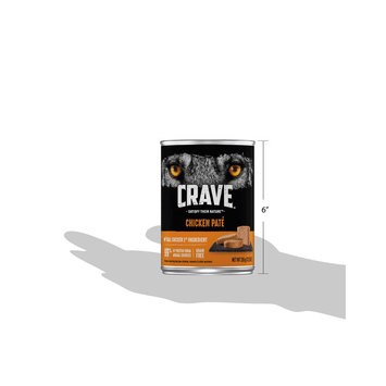Crave™ Chicken Pate Dog Food 12.5 oz. Can