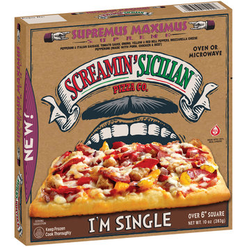 Screamin' Sicilian™ Pizza Co. Supremus Maximus Supreme Pizza 10 oz. Box