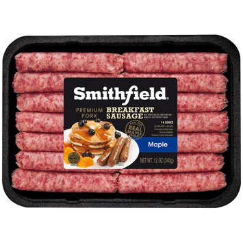 Smithfield® Maple Premium Pork Breakfast Sausage Links