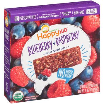 Happy Kid™ Blueberry + Raspberry Fruit & Oat Bars 5-0.99 oz. Bars