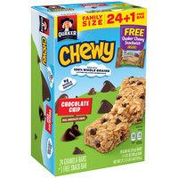 Quaker® Chewy Chocolate Chip Granola Bars 21.7 oz. Box