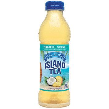 Margaritaville Island Tea, Pineapple Coconut 18.5-ounce plastic bottle
