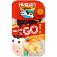 Horizon NEW! Good & Go! Cheddar, Raisins, Cashews & Sweetened Cranberries
