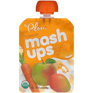Plum Organic® Mashups® Carroty Chop Apple Sauce 3.17 oz. Pouch