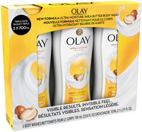 Olay® Ultra Moisture Shea Butter Body Wash 3-23.6 fl. oz. Bottles
