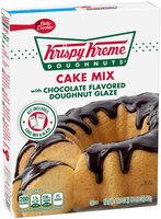 Betty Crocker™ Krispy Kreme Cake Mix with Chocolate Flavored Doughnut Glaze
