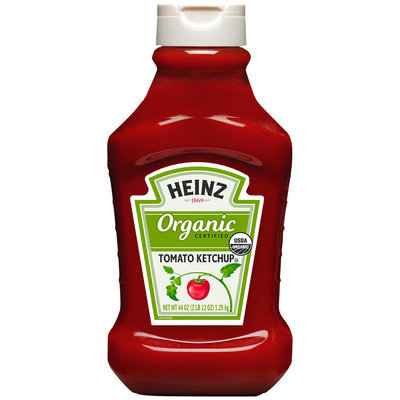 Heinz Organic Certified Tomato Ketchup 44 oz. Bottle