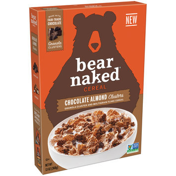 Bear Naked® Chocolate Almond Clusters Cereal 13 oz. Box