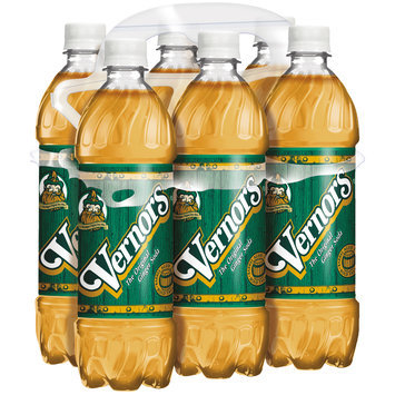 Vernors Ginger Soda, 24 Fl Oz Bottles, 6 Pack